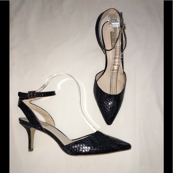 1bdfb48919bb Louise et Cie Shoes - Nordstrom Louise et Cie Heels Navy Blue Snake 10